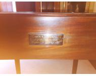 Plaque gifting the desk to Gov Seward.